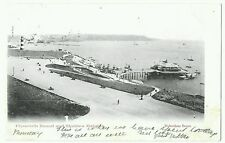 Plymouth Sound & Staddon Heights postmarked Plymouth 1903, showing the pier.