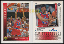 NBA UPPER DECK 1993/94 - Pervis Ellison # 109 - Bullets - Ita/Eng - MINT