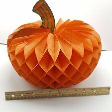 Honeycomb Tissue Pumpkin Halloween Centerpiece Decoration 12 in USA