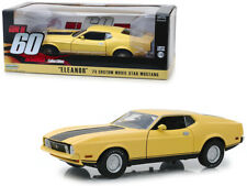 """1973 Ford Mustang Mach 1 Custom Movie Star """"Eleanor"""" Yellow with Black Stripe """"G"""