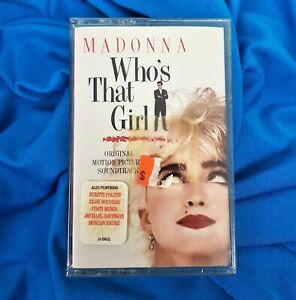MADONNA SEALED WHO'S THAT GIRL CASSETTE TAPE TRANSPARENT AR US 1987 Promo Hype