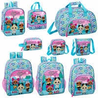LOL Surprise Girls Backpack School Bag Should Messenger Lunch Bag HEART OFFICIAL