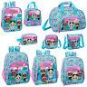 LOL Surprise Girls Backpack School Bag Should Messenger Lunch Bag HEART OFFICIAL