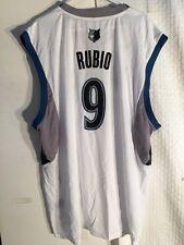 Adidas NBA Jersey Minnesota Timberwolves Ricky Rubio White sz 2X
