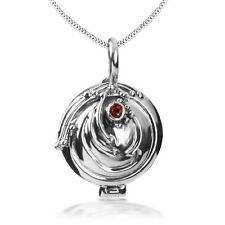 COOL 925 Sterling Silver The Vampire Diaries Elena Pendant Necklace Handmade