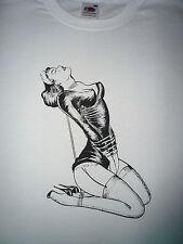 Vintage Fetish Bondage BDSM T-SHIRT UOMO/MAN