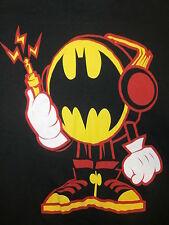 Batman T Shirt Headhones Amplified Electric Sneakers Tennis Shoes Og Logo Small