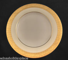 "Minton China Buckingham Bread Plate 6.25"" Gold encrusted trim"