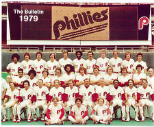 1979 PHILADELPHIA PHILLIES  8X10 TEAM PHOTO ROSE BOWA  BASEBALL  HOF