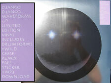 "DJANGO DJANGO 12"" Waveforms SEALED + MP3 + STICKER / Drumforms / Wild Geese RMX"