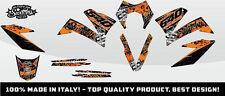 KIT ADESIVI GRAFICHE #CAMOSPLATTER FLAME KTM 640 SMC 2005 2006 2007 DEKOR