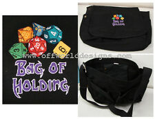 New Vintage Canvas Messenger Bag of Holding Magic User Dice d20 Offworld Designs