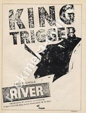 King Trigger River 'The Face' '45 advert