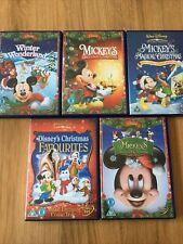 Disney Christmas Mickey Mouse DVD Bundle Job Lot
