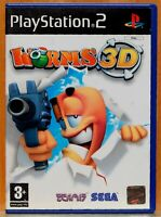 Worms 3D - Playstation 2 - Pal España - Completo