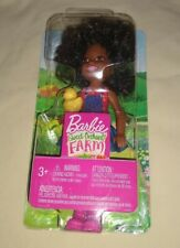 Barbie Sweet Orchard Farm African American Chelsea Friend Doll Yellow Chick