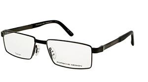 New Lightweight PORSCHE DESIGN Titanium Eyeglasses P'8115 C 56-16 Black Frames
