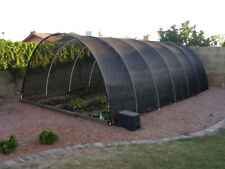 Agfabric 40% Sunblock Shade Cloth With Grommets 12x14ft Black for Plant Cover