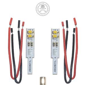Technics SL-1200/1210 LED SMD Target Lights in White, pair Jesse Dean Designs