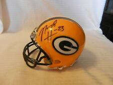 Noah Herron #23 Green Bay Packers Signed Mini Helmet