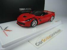 Truescale #tsm430228 1/43 2017 Corvette Grand Sport techo abierto
