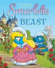 Smurfette and the Beast: A Smurftastic Pop-up Book (Smurfs Classic) - VeryGood -