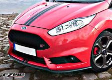 EZ-Lip Spoiler Frontale Labbro Spoiler Labbro Spoiler Tuning Ford Fiesta mk7 ja8 ST RS