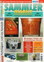 SAMMLER MARKT International - Magazin Heft Flohmarkt Auktionen 01/2008 - B21603