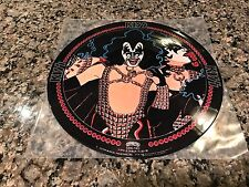 KISS GENE SIMMONS PICTURE DISC FROM 1978 JAPAN
