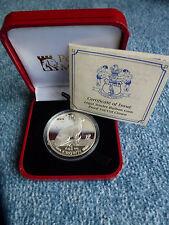 Isle of man 1 crown 1992 Siam Katze - Silber pp