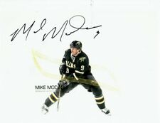 MIKE MODANO AUTOGRAPHED 8x10 COLOUR PHOTO NHL HOF SIGNED COA DALLAS STARS