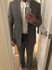 Rhodes And Beckett Grey Suit Super 120s