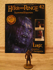 Herr der Ringe-Figur : Lurtz Ausgeburt Isengarts (Nr. 42) +Heft