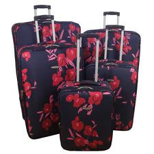 ARIANA Lightweight ROSE Flower Luggage Set Suitcase Travel Cabin Bag - RT33