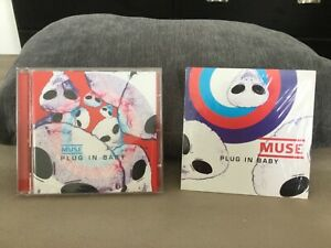 Muse Plug In Baby Cd Single Card Sleeve + CD Maxi French Pressing Rare Naïve