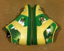 DC Manteca 2 M LX Woman's Size 7.5 Emerald Yellow BMX Skate Shoes Sneakers