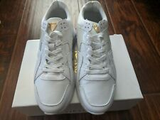 100% Authentic SikSilk Off White & Gold Supreme Limited Collection Sneakers 9.5