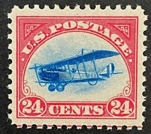 US Stamps, Scott C3 24c XF M/NH 1918 Airmail with 2015 PSE cert