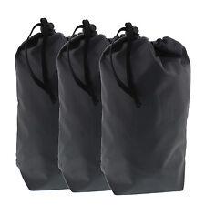 4.5 Liter 8 x 11 inch Nylon Stuff Sack Storage Travel Pouch Bag with Draw string