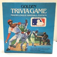 Vintage 1984 Golden Trivia Game: Major League Baseball Edition Complete