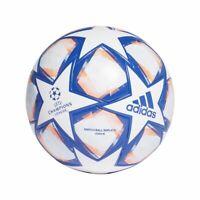 Adidas Fußball UCL Finale 20 League Ball Trainingsball weiß blau orange