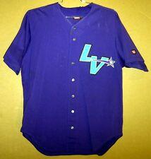 Las Vegas Stars Tony Franklin Purple #10 Game Worn Minor League Baseball Jersey
