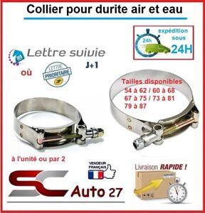 Collier de serrage pour durite air/eau taille min 54 max 62 vendu à l'unité