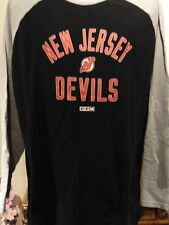 New Jersey Devils NHL Men's Long sleeve T-Shirt X-Large