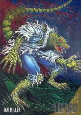 SPIDER-MAN 1995 FLEER ULTRA GOLDEN WEB INSERT CARD 5 OF 9 LIZARD IAN MILLER MA