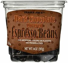Trader Joe's Dark Chocolate Covered Espresso Beans 14 oz.