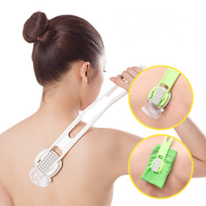 Korean Self Body Back Care Stick for applying lotion, oil and scrubbing