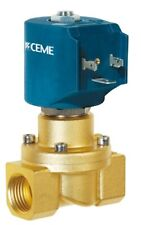 "CEME 8415 solenoid valve 3/4"" BSP 20mm 0-4AC 0-2DC BAR NBR Direct Acting"