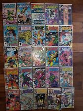 MARVEL COMICS LOT: AVENGERS #251-275  (1985-1987)