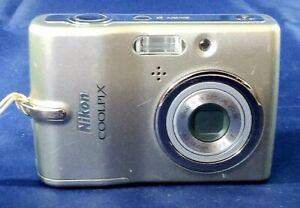Nikon Cool Pix L11, 6Mp, 3x Zoom, Storage Media, Movie, Uses 2 AA Batteries